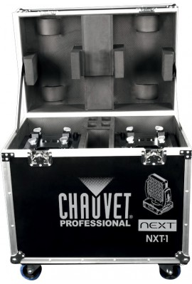CHAUVET Pack de 2 Next™ NXT-1 en Flight Case