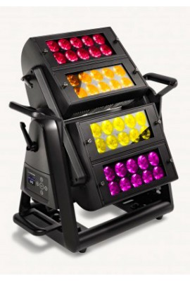 AYRTON ICECOLOR™ 500 - LED RGBW 40x10W IP65 en Flight Case