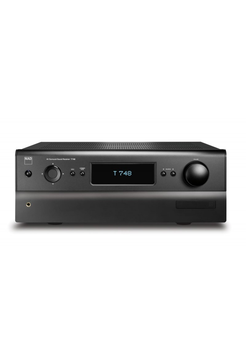 nad t748 v2 amplificateur home cinema 3d 7 x 40 watts sous 8 ohms jfmusic son acoustic. Black Bedroom Furniture Sets. Home Design Ideas