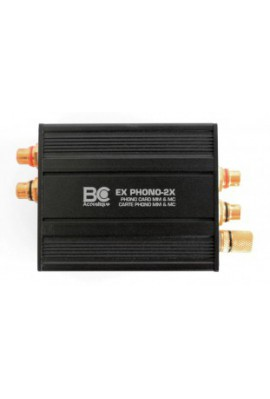 BC ACOUSTIQUE EX PHONO-2X Carte Externe Phono MM/MC