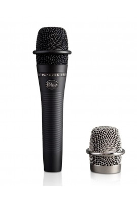 BLUE Microphones en•Core 100 Black Micro à Mains Dynamique Live