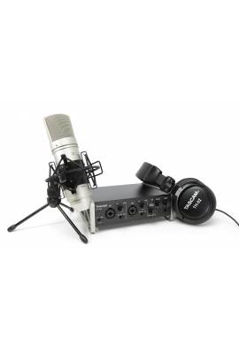 TASCAM TRACKPACK 2x2 Bundle Interface US2X2 + Casque TH-02 + Micro Statique TM-80